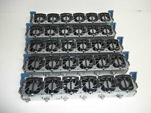 (5) HP Proliant DL380 G3 G4 Server CPU Case cooling Fan Strip Assembly