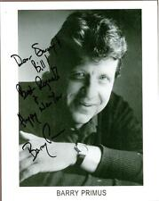 """Barry Primus, Actor, Signed & Inscribed 8"""" x 10"""" Photo, COA, UACC RD 036"""