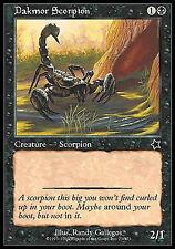 Dakmor Scorpion X4 EX/NM Starter 1999 MTG Magic Cards Black Common