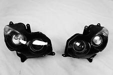 NEW Premium Headlight Head light Assembly Kawasaki ZX14R ZX-14 ZZR1400 2006-2011