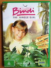 BINDI THE JUNGLE GIRL + STEVE IRWIN & THE CROCMEN ~ DVD ~ EPISODES 1-4