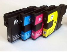 SET OF 4 BROTHER INKS FOR DCP110-DCP115C-DCP117C-DCP120