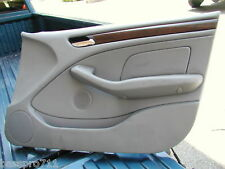 2003 BMW 325 325I E46 DOOR PANEL FRONT RIGHT OEM GREY