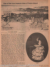 Texas Family Genealogy, Singer Sewing Machine Treasure