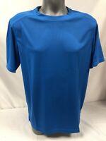 T-shirt Homme Zhik 100%Polyester Modèle ZhikDry Taille L Couleur Bleu Neuf !!!!!