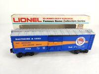 Lionel O Gauge O27 Baltimore & Ohio B&O 6-9783 Boxcar Time Saver Service NIB.
