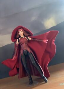 Marvel Legends Scarlet Witch Wandavision - Cloth Cape With Hood - No Figure