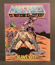 1983 Mattel Masters Of The Universe SLAVE CITY mini comic - Lodar - VG condition
