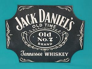 Schild Jack Daniels Holz 30X40 cm