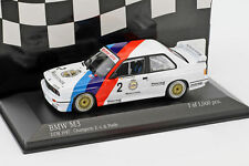 1 43 Minichamps BMW M3 E30 DTM Champion V.d.poele 1987