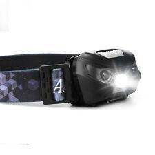 SAVFY USB Rechargeable Sensor Headlight Waterproof LED Headlamp Head Torch Light
