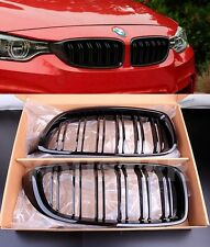 US STOCK M PERFORMANCE GLOSS BLACK GRILLS BMW 4 Series F32 F33 F36 F82 M4 F80 M3