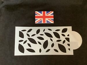Leaf Style  Stencil For Cake Decorating Oriental