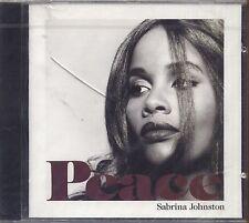 SABRINA JOHNSTON - Peace - CD 1992 SIGILLATO SEALED
