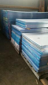 4,5 mm Stegplatten Polycarbonat 2. Wahl - 20 Stück 250 x 98 cm