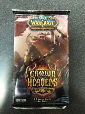 World Of Warcraft Crown Of The Heavens 24 Booster Pack LOT For Card Game WOW Box