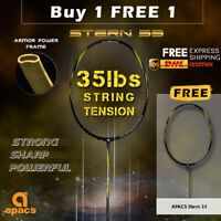 Apacs Stern 33 4UG2 Badminton Replacement Racket [BUY 1 FREE 1 Racket]- Unstrung