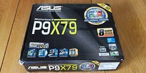 ASUS P9X79, LGA 2011 motherboard, 16GB DDR3 memory, PCIx M.2, Xeon E5-2637 V2