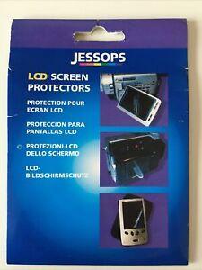 JESSOPS 3 x LCD SCREEN PROTECTORS 96 x 78 mm PLUS cleaning wipe + applicator