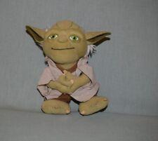 "Plush Star Wars Yoda 8"" 2011 Underground Toys Talking - Not Tested"