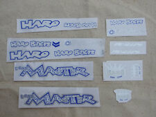 Original Old School, Haro Master Complete Bicycle Decal Set for BMX Bike