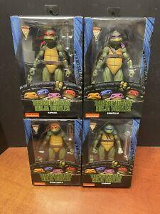 Neca Teenage Mutant Ninja Turtles TMNT 1990s Movie GameStop Set Of 4 EM7092