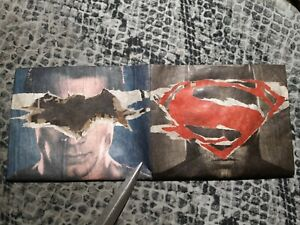 Batman V Superman paper wallet by Mighty Wallet Loot Crate collectible