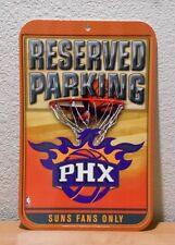 PHOENIX SUNS RESERVED PARKING SIGN 2008 NBA Properties WinCraft