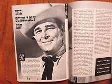 June-1958 TV Guide(ROD CAMERON/PATTY DUKE/GAIL PATRICK/ALAN HALE/NOREEN CORCORAN