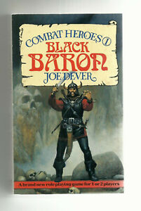 BEAVER BOOKS - COMBAT HEROES #1, THE BLACK BARON (JOE DEVER, 1st edition 1986)