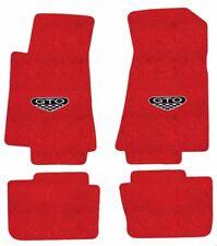 NEW! FLOOR MATS 2005-2006 PONTIAC GTO CREST Embroidered Logo Carpet Set of 4