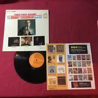 The Benny Goodman Quartet – Together Again  REISSUE:RCA Victor – LSP 2698 (EX)