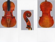 A rare, fine French certified 3/4 violin by Nicolas Vuillaume,1855, NICE!
