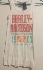 Harley davidson womens tank tops Beaded Size Small