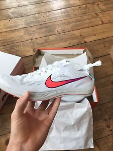 Nike ZoomX Dragonfly Spikes UK9 Olympic White *RARE*