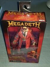 Neca MEGADETH CLOTHED FIGURE (SOLD OUT) Peace Sell but who's buying Dave Mustane