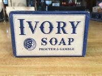 Vintage 1940's, WWII, Bar of IVORY SOAP, Unopened, in Excellent Condition, NOS