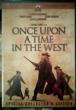 Once Upon A Time In The West 1969 Ws Dvd Special Collector's Edition New/Sealed