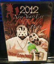 Insane Clown Posse - 2012 New Years Ninja Party DVD JCW ICP Blaze Ya Dead Homie