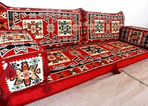 Arabic Floor Seating Sofa Oriental Eastern Seating Pillowcase Cushion English