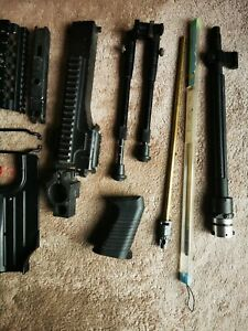 Airsoft M249 A&k And Classic Army Parts