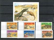 Kasachstan - Reptilien 1994 (**/mnh)