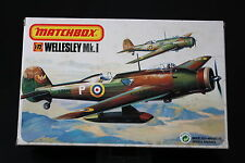 YN157 MATCHBOX 1/72 maquette avion 40123 Wellesley Mk.I