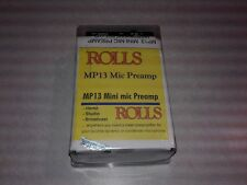 Rolls MP13 Mini Microphone 1 Channel Pre-Amp/Processor Amplifier