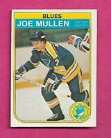 1982-83 OPC # 307 BLUES JOE MULLEN  ROOKIE EX-MT CARD (INV# C4353)