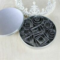 24 Set Cookie Cake Mold Stainless Steel Decorating Moulds Cookie Cutter