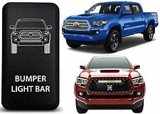 CH4x4 Blue LED Bumper Light Bar Rocker Switch For 2016-2017 Toyota Tacoma New
