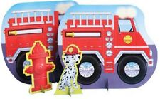 RESCUE VEHICLES Firefighter MINI TABLE DECORATING KIT ~ Birthday Supplies Center