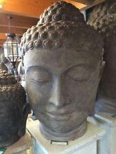 Buddha Kopf Skulptur Steinfigur Asien 150cm