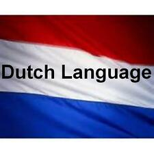 Learn DUTCH  - 100 Lessons Audio Book MP3 CD - iPod Friendly